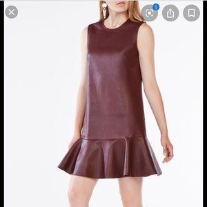 "NWT BCBG Maxazria leather ""Sheridan"" sheath dress"